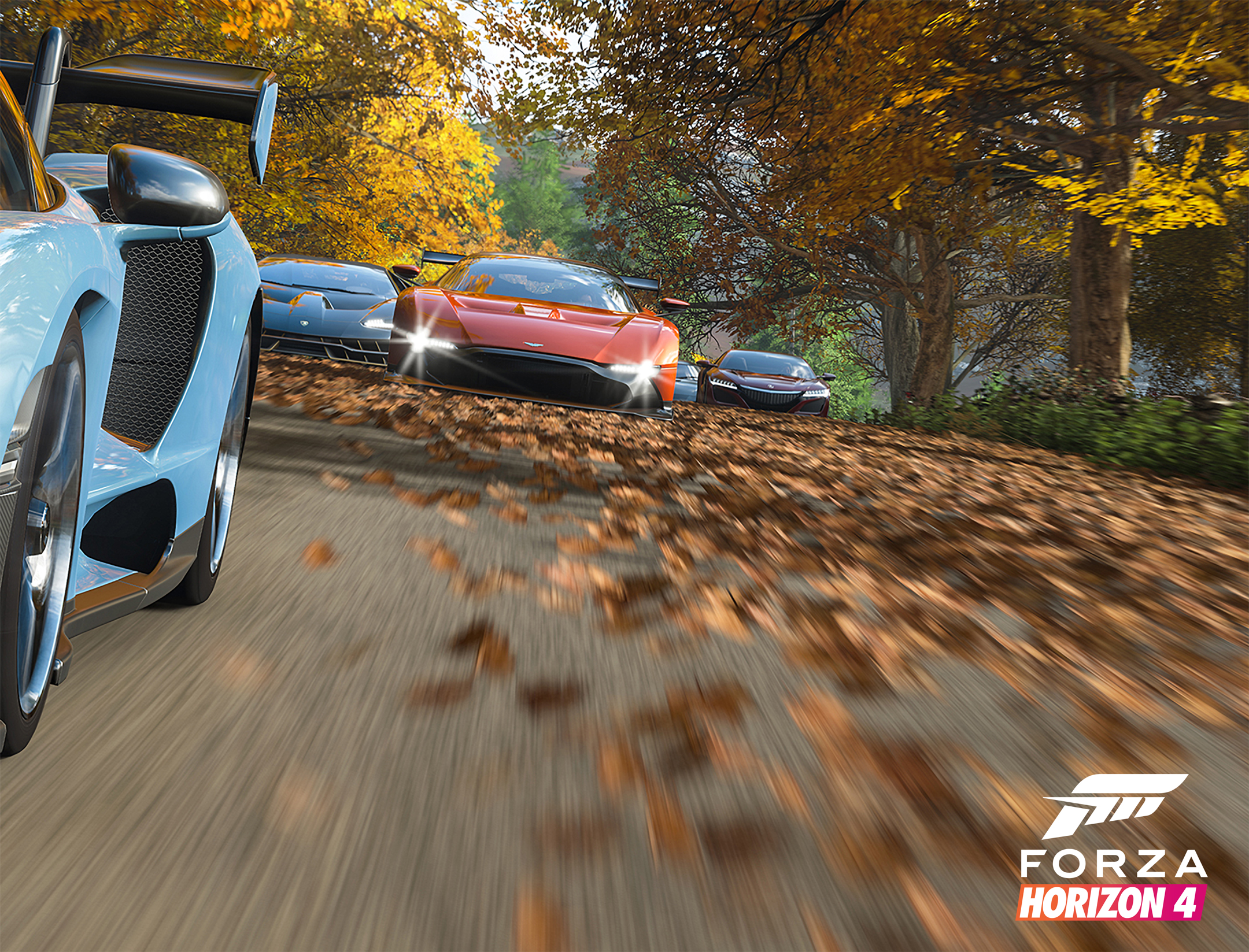 Forza Horizon 4 - 2018 - screen cars - Aston Martin Vulcan vs Lamborghini Centenario vs Acura NSX