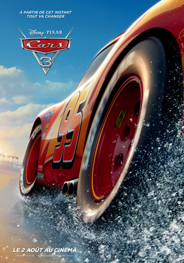 Cars 3 - poster 2017