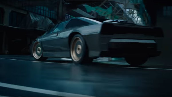 Lotus Esprit - in trailer Ghost-in the Shell - 2017