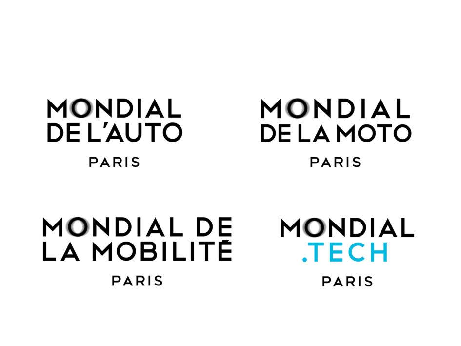 Mondial Paris 2018 - Auto - Moto - Mobilité - Tech - logotype