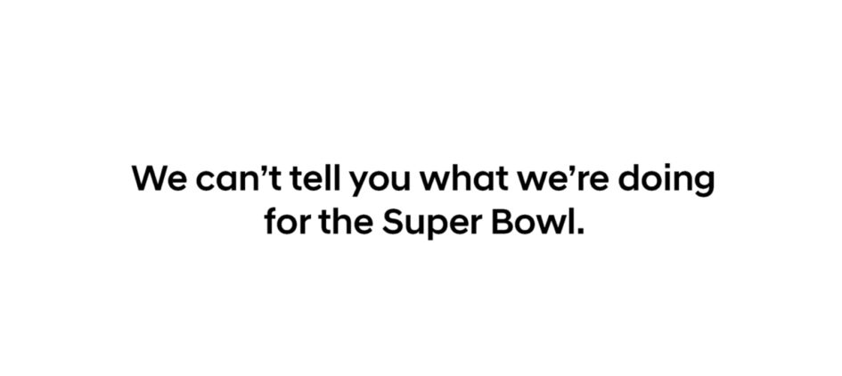 Super Bowl 2018 - Big Game ad - teaser - 2018