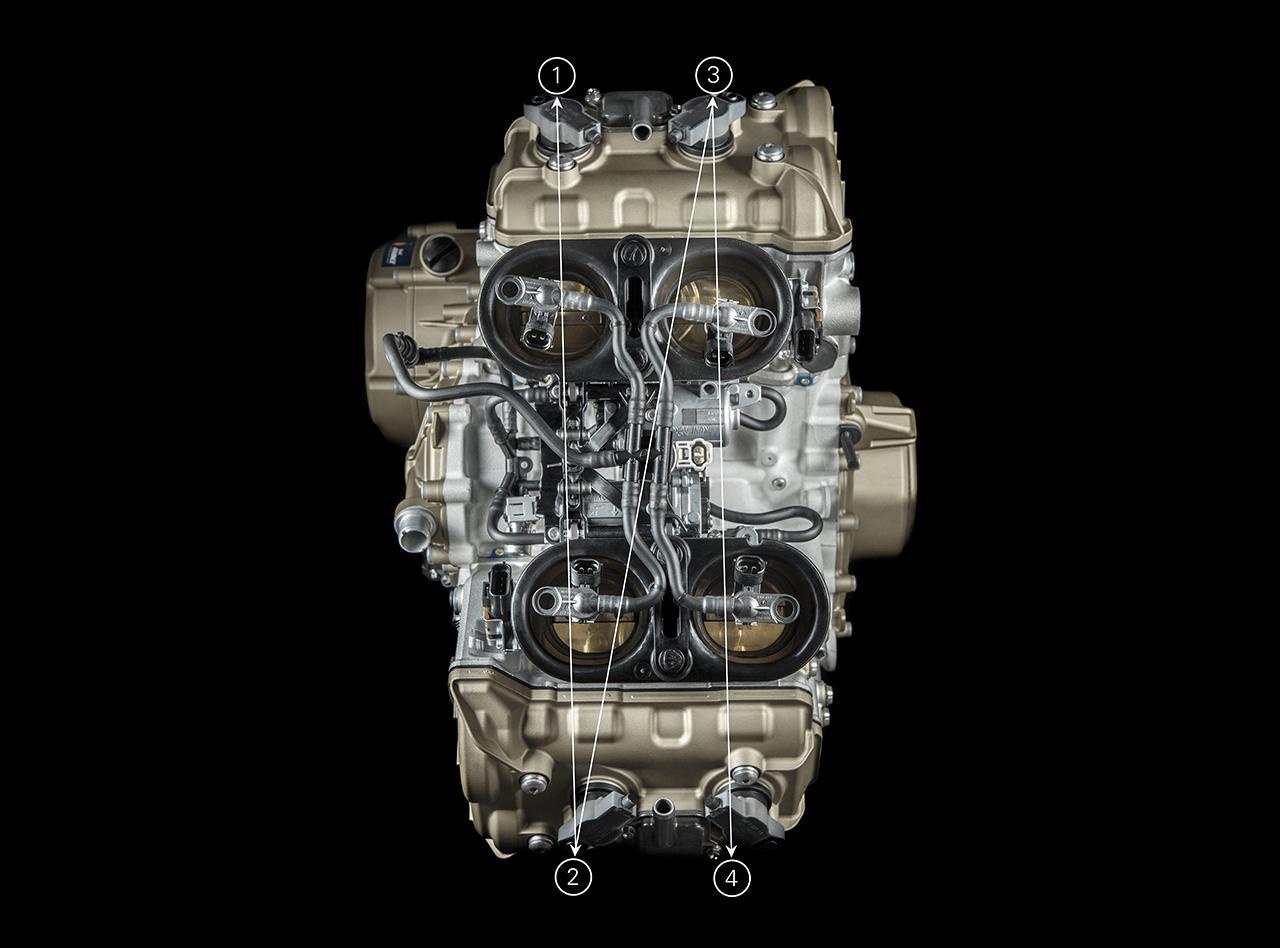 Ducati Panigale V4 - 2018 - Desmosedici Stradale - view top