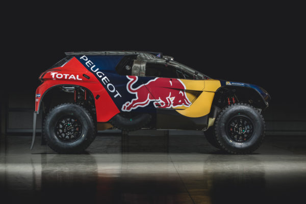 Peugeot 2008 DKR16 - 2016 - side-face / profil
