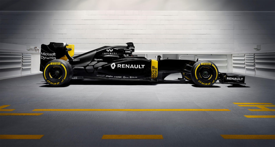 Renault RS16 F1 2016 - profil / side-face