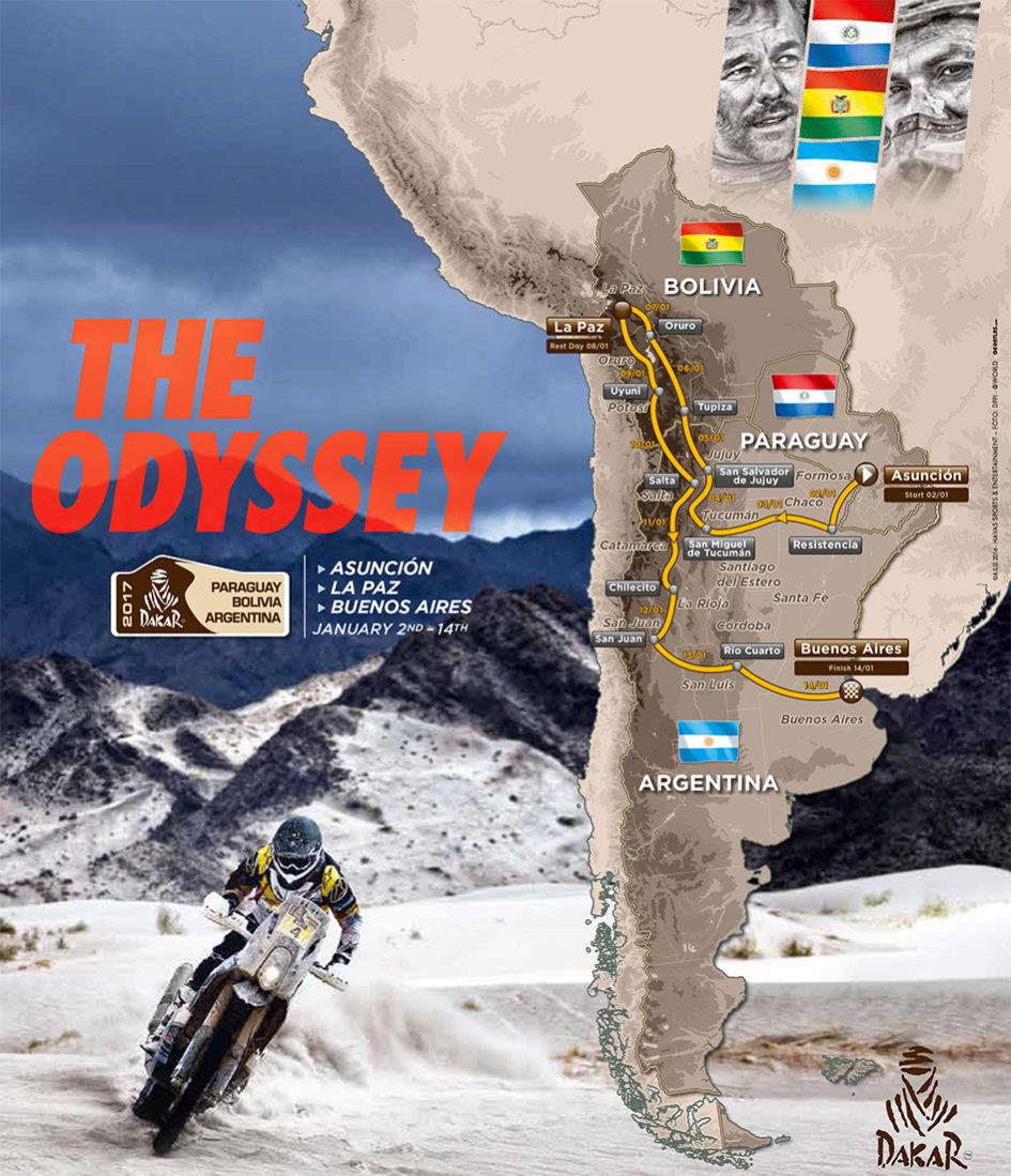 Dakar 2017 - cover