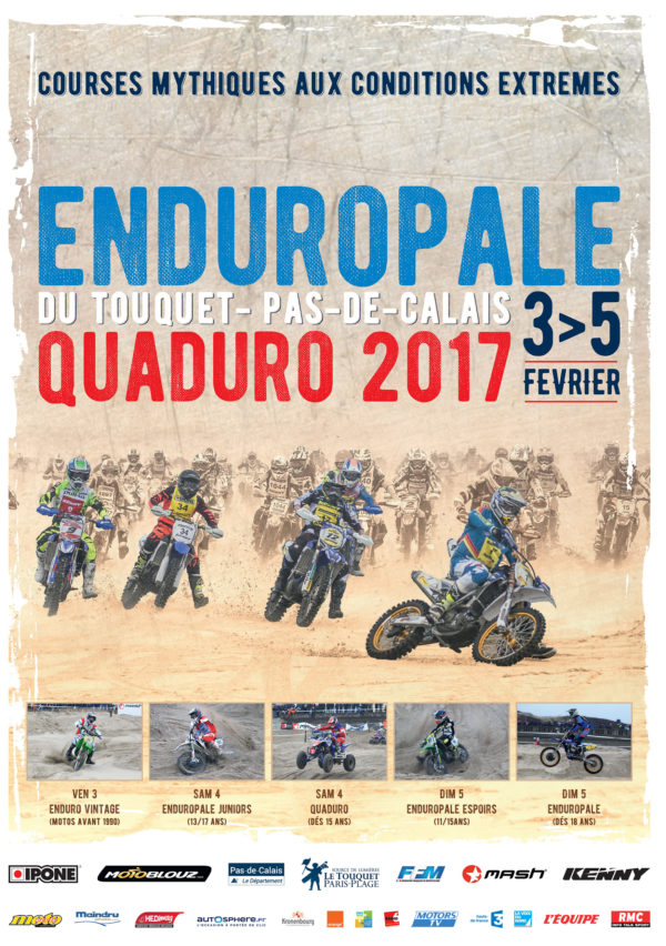 Enduropale 2017 - infographie