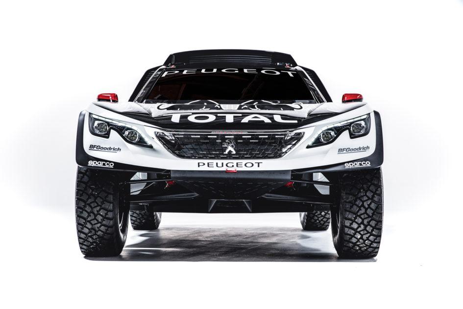 Peugeot 3008DKR - 2017 - front-face / face avant