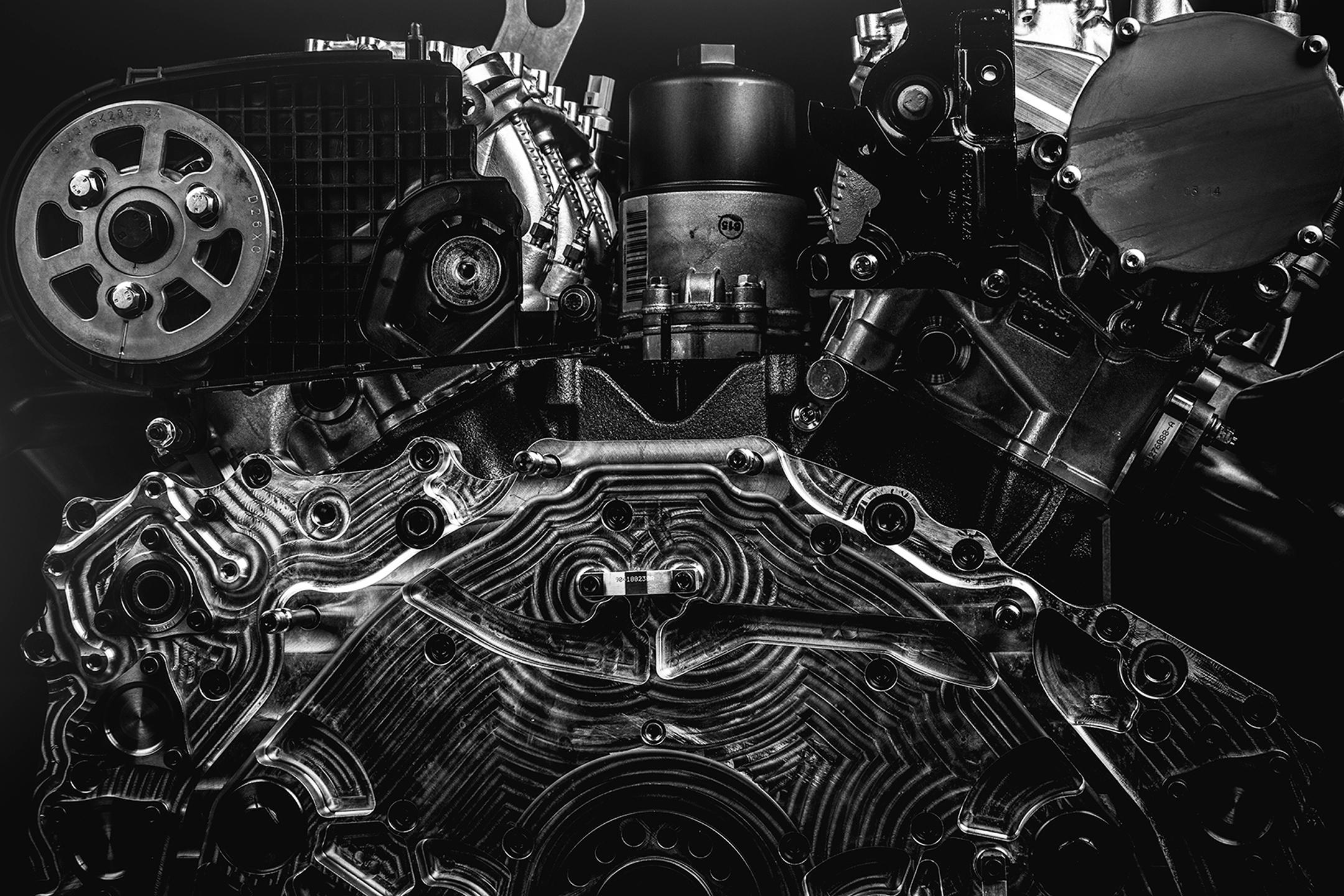 Peugeot - engine / moteur-- V6 3.2L