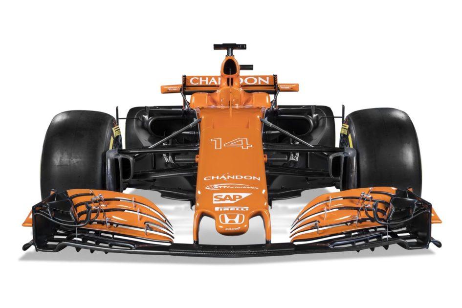 F1 McLaren-Honda MCL32 - front-face
