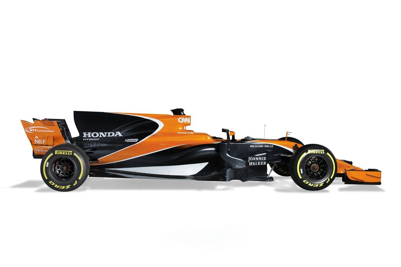 F1 McLaren-Honda MCL32 - side-face