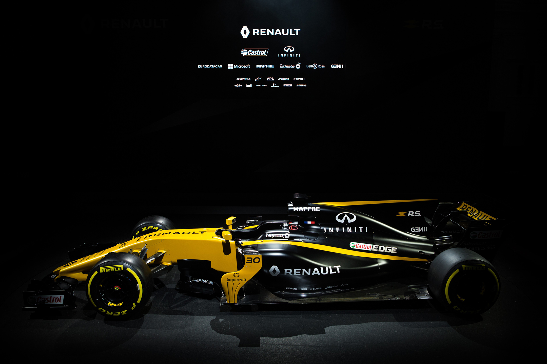 F1 R.S.17 - launch - reveal livery - side-face