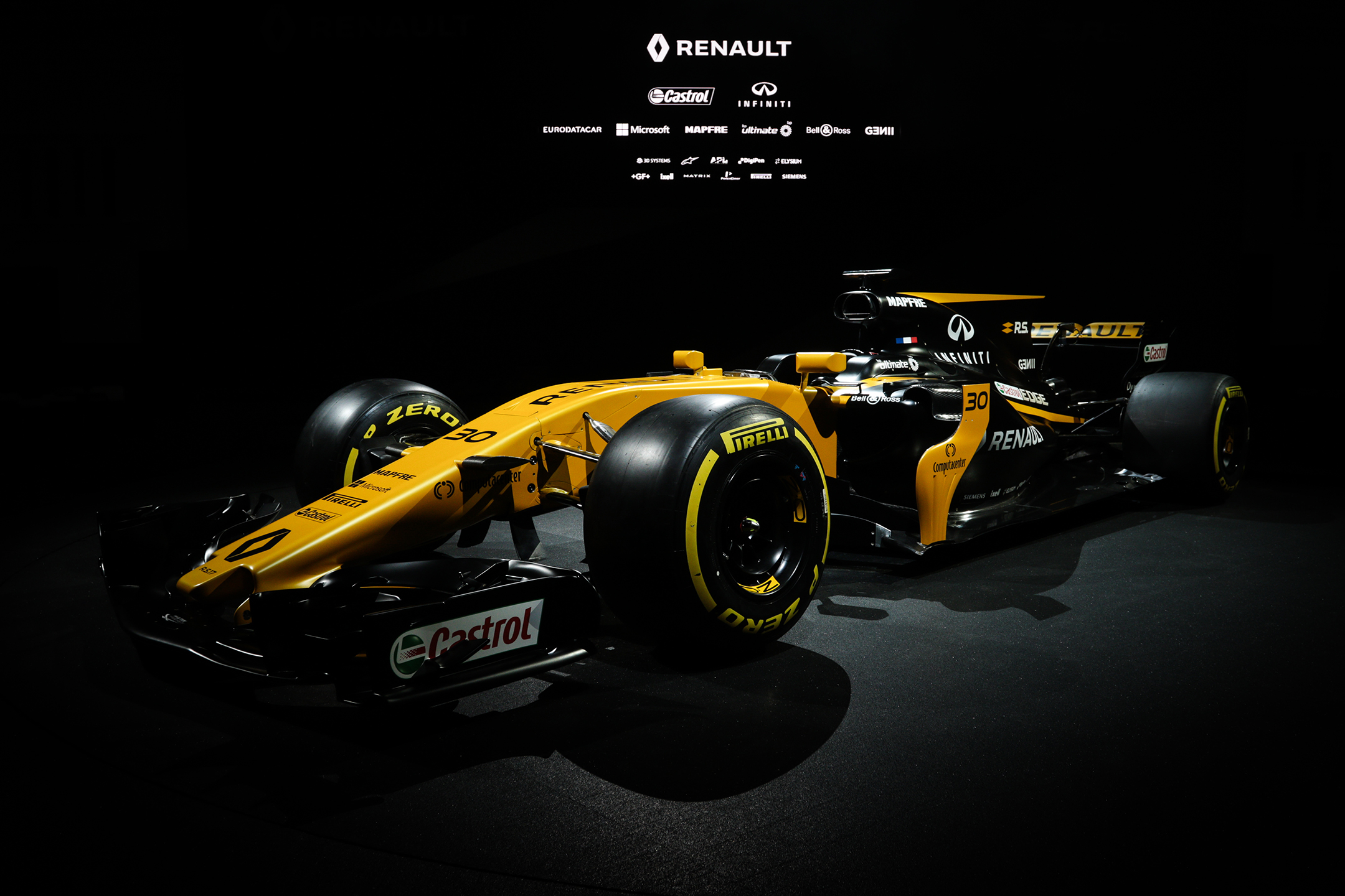 F1 R.S.17 - launch - reveal livery