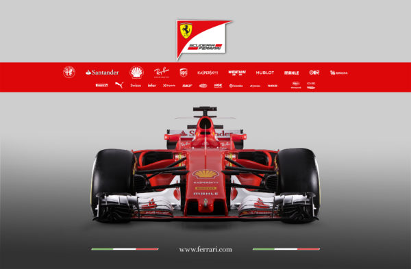 F1 SF70H - front-face