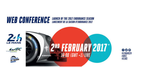 24 Heures du Mans 2017 - web conference - cover