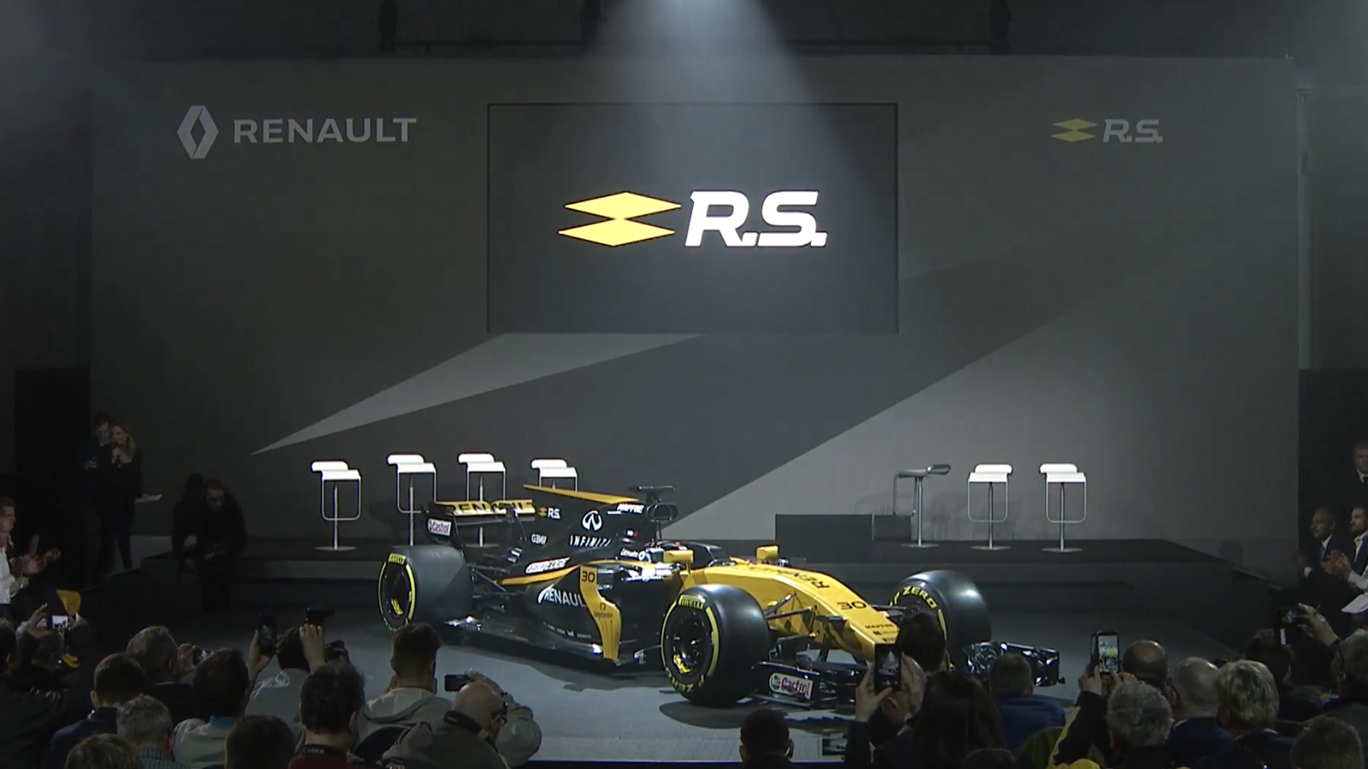 RS 17 Launch 2017 - reveal livery