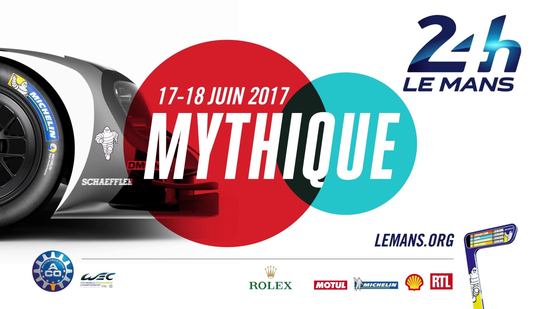 Les 24 Heures du Mans 2017 - poster