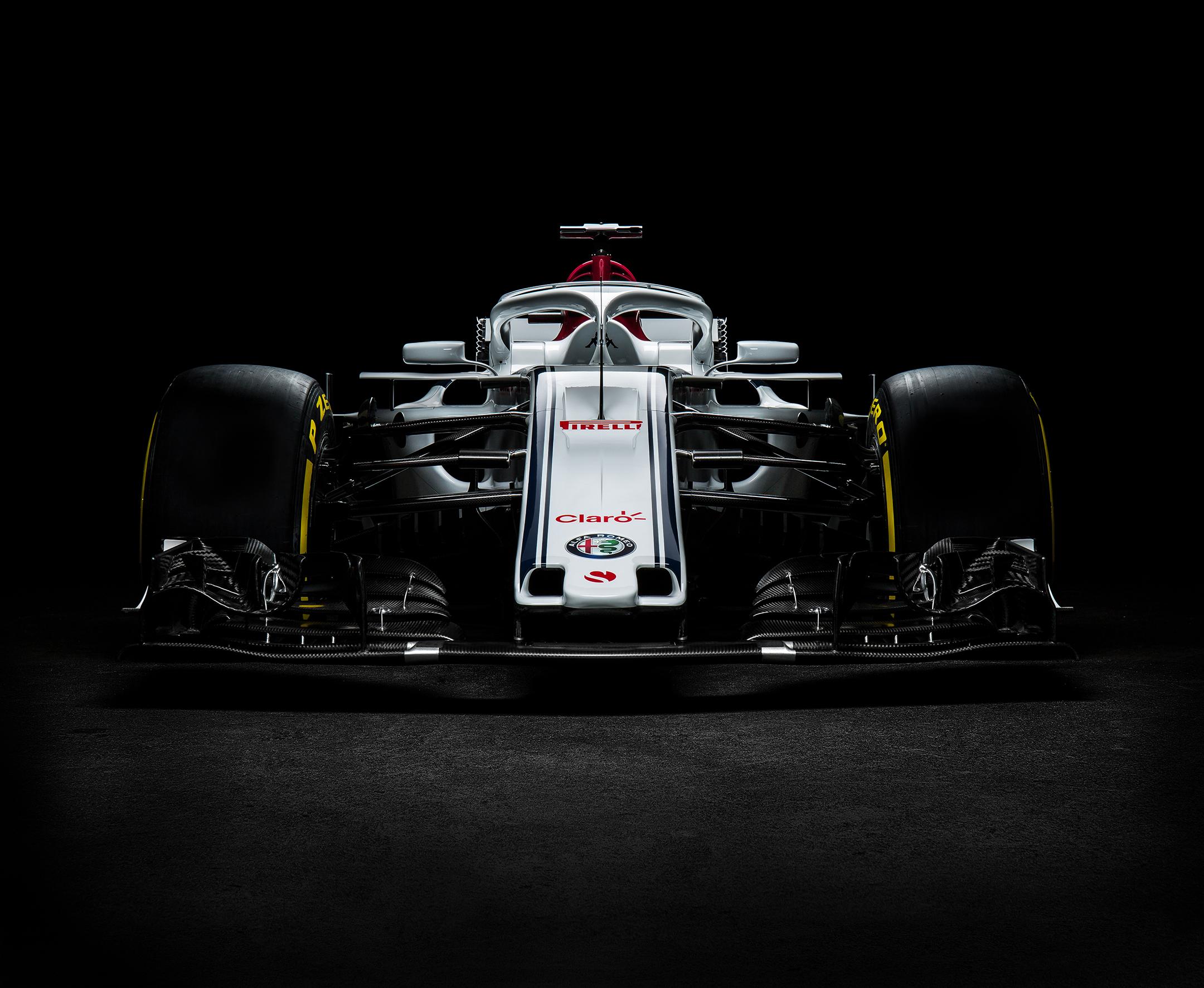 Alfa Romeo Sauber F1 Team - C37 - F1 2018 - front-face