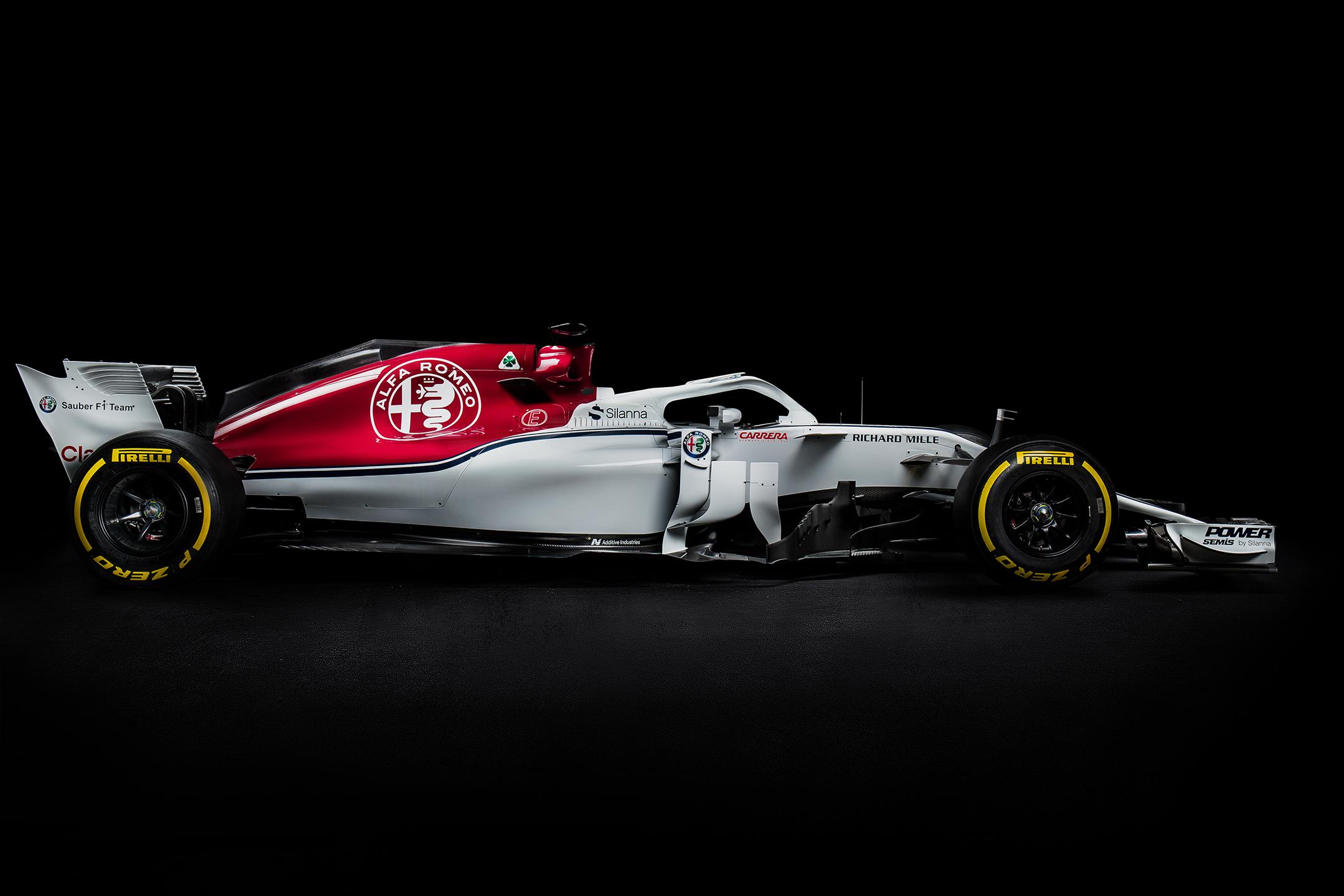 Alfa Romeo Sauber F1 Team - C37 - F1 2018 - side-face