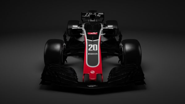 Haas F1 Team - VF18 - F1 2018 - front-face