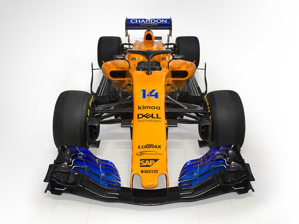 McLaren F1 Team MCL 33 - 2018 - front-face