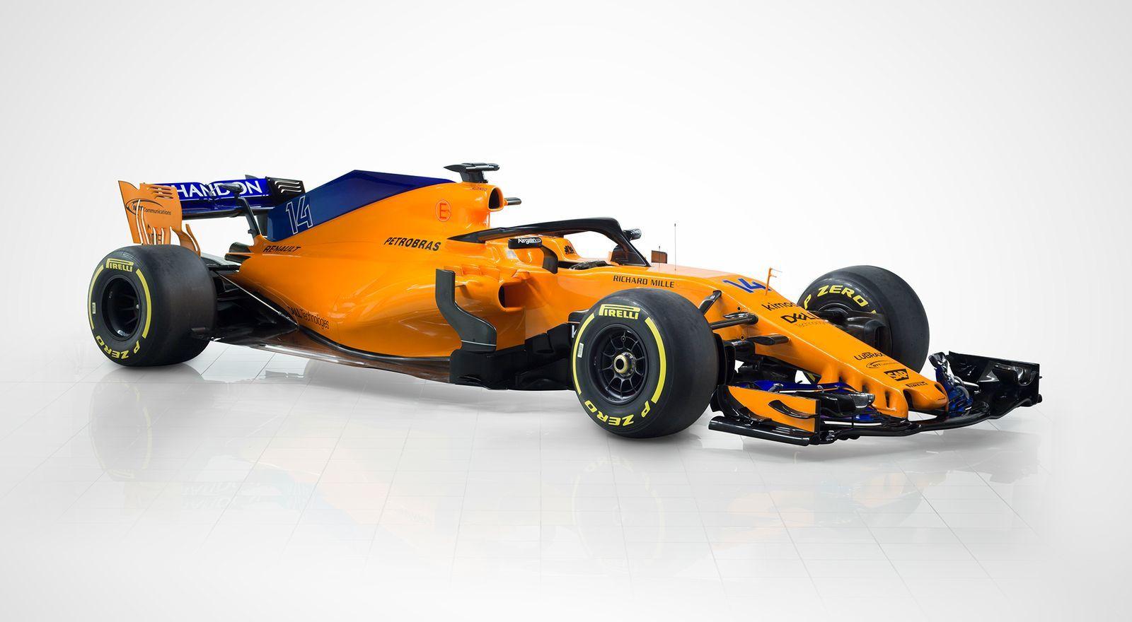 McLaren F1 Team MCL 33 - 2018 - front side-face