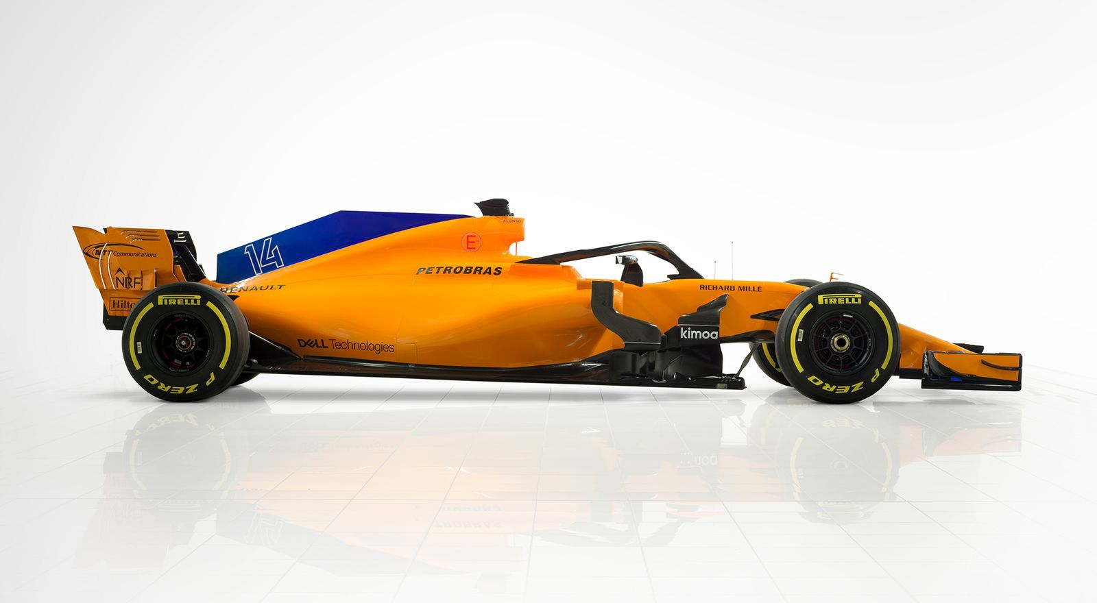McLaren F1 Team MCL 33 - 2018 - side-face
