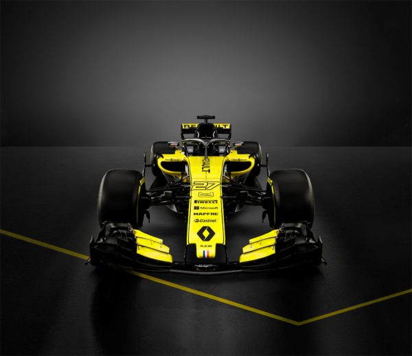 Renault Sport F1 Team - RS18 - F1 2018 - front face