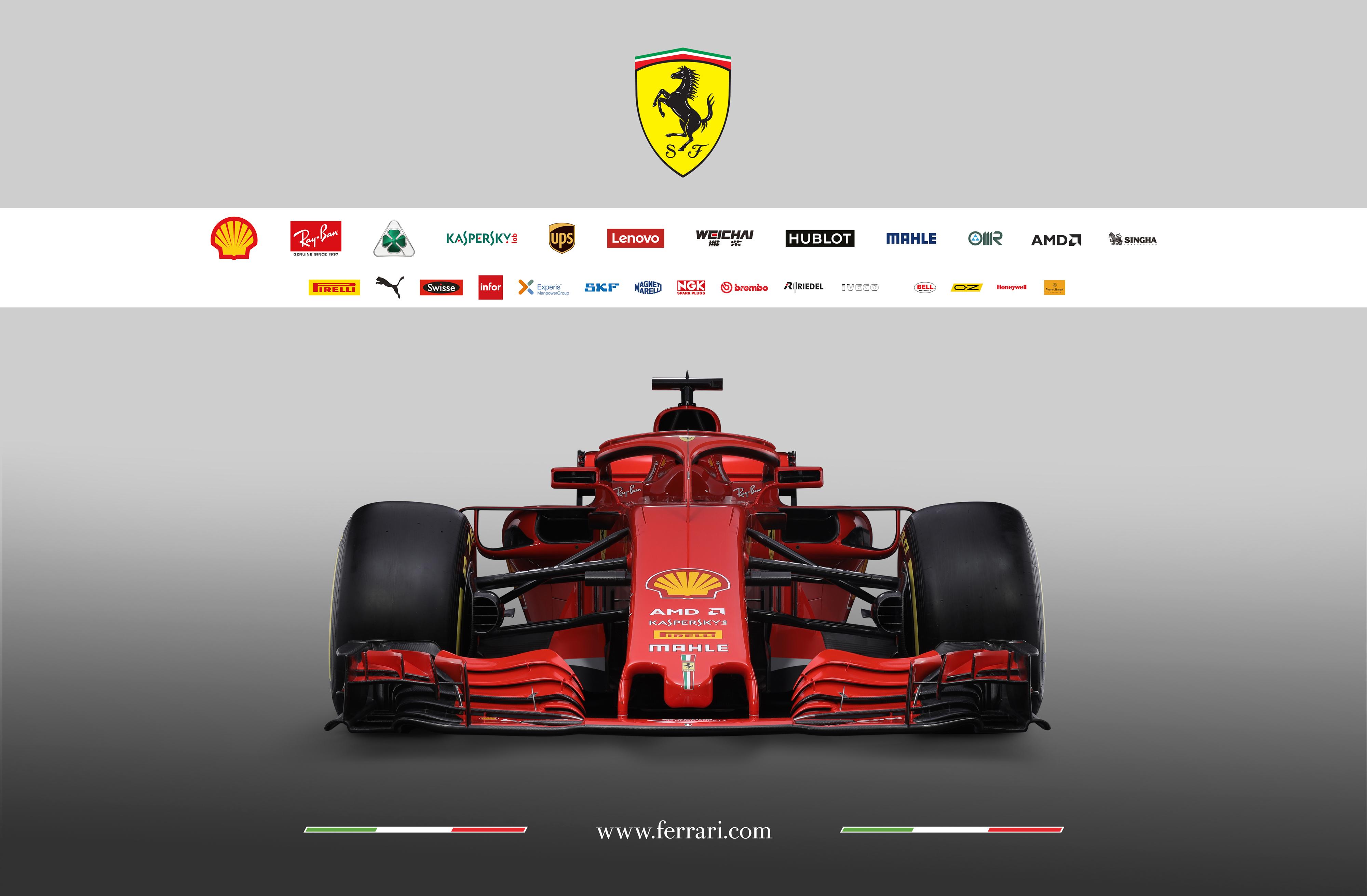 Scuderia Ferrari F1 SF-71H - 2018 - front-face
