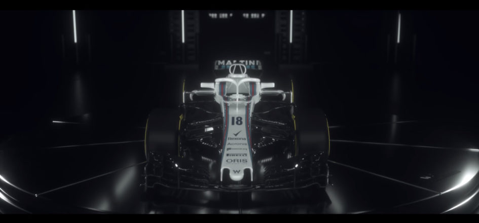 F1 2018 - Williams Martini Racing - Team FW41 - front-face - preview