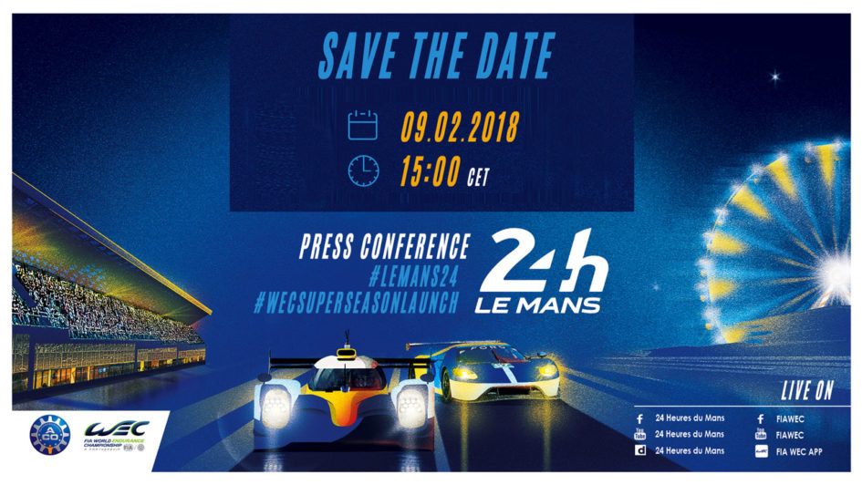 road to le mans 2018 d brief de la conf rence 24 heures du mans 2018. Black Bedroom Furniture Sets. Home Design Ideas
