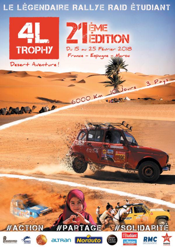 Raid 4L Trophy - 2018 - poster