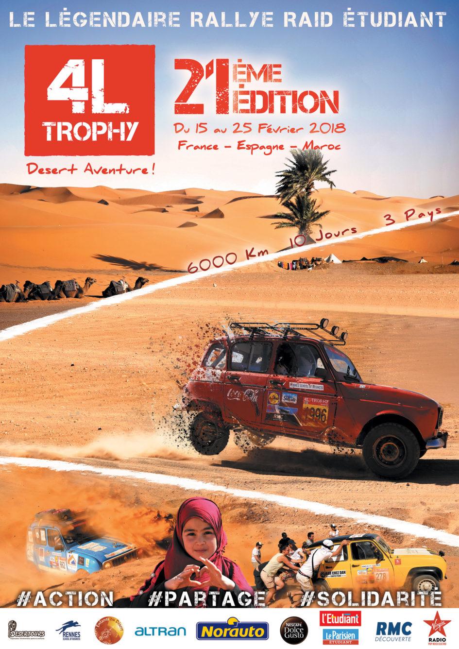 Rallye 4 l trophy 2018