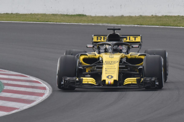 Renault Sport RS18 - front track - F1 Testing - 2018 - photo by Jacques Denis - Team DESIGNMOTEUR