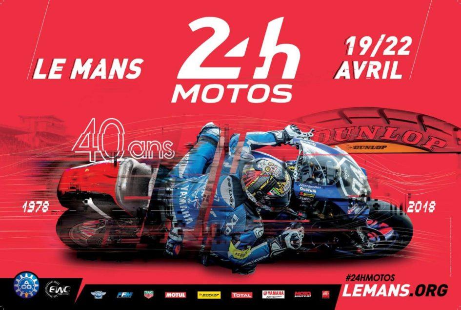 Poster 24H Motos - cover