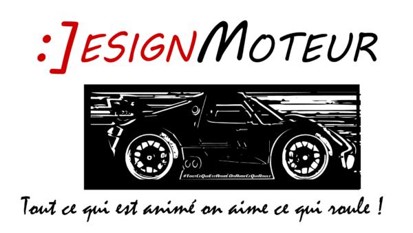 :DESIGNMOTEUR logotypo 2017 - slogan #ToutCeQuiEstAniméOnAimeCeQuiRoule